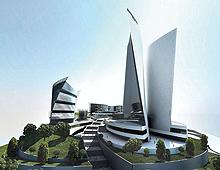 Международен бизнес център и хотел Интерконтинентал