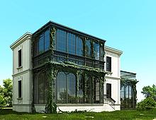 Къщата с бръшляните