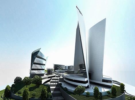 Международен бизнес център хотел Интерконтинентал