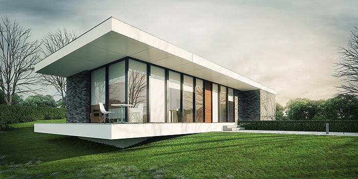 Line house design