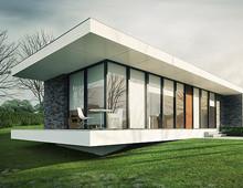 """Линеарната къща – част от серия """"Геометрия"""""""