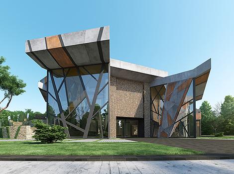 Forest Mansion Starh Architects