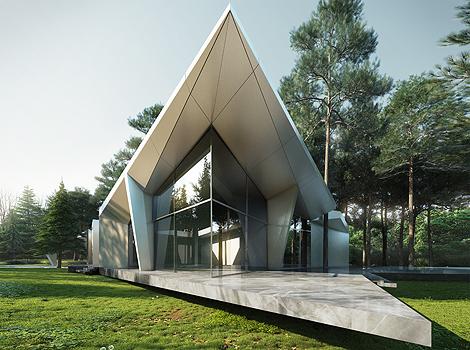 Atrium House Starh Architects